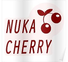 Nuka Cola Cherry Label Poster