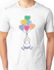 Love Is In The Air Watercolor Unisex T-Shirt