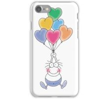 Love Is In The Air Watercolor iPhone Case/Skin