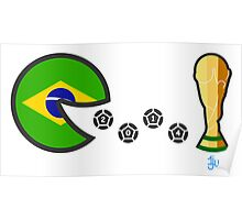 Brazil World Cup 2014 Poster
