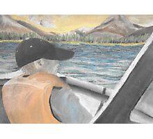 Chalk Pastel 8x10 Brother Fishing Photographic Print