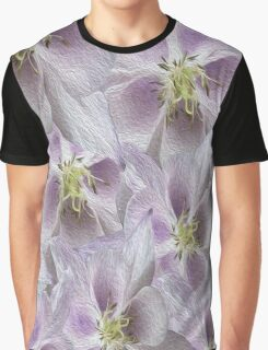 Flower Floral oil painting Graphic T-Shirt