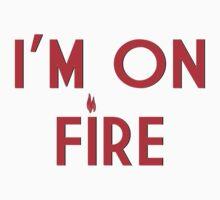 I'M ON FIRE Kids Tee
