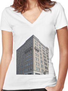 Hotel Manaco Women's Fitted V-Neck T-Shirt