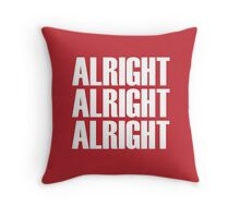 Alright Throw Pillow