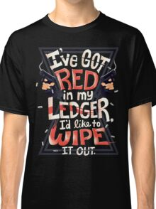 Wipe out the red Classic T-Shirt