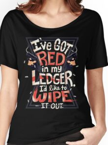 Wipe out the red Women's Relaxed Fit T-Shirt