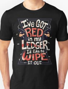 Wipe out the red Unisex T-Shirt