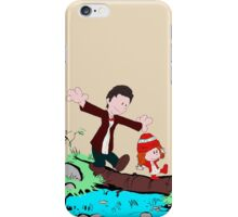 Amy & Doctor iPhone Case/Skin