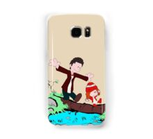 Amy & Doctor Samsung Galaxy Case/Skin