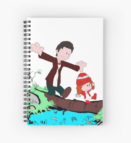 Amy & Doctor Spiral Notebook