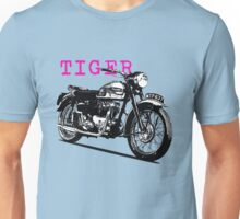The Vintage Tiger Motorcycle Unisex T-Shirt