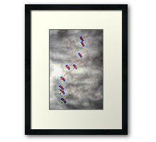 RAF Falcons Parachute Display Team Framed Print
