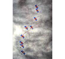 RAF Falcons Parachute Display Team Photographic Print