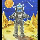 'ROBBY THE ROBOT'  by ward-art-studio