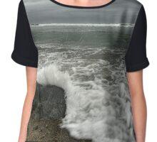 Stormy Seas Chiffon Top