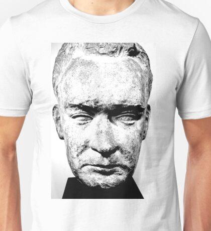 sculpture face stone stallin Unisex T-Shirt