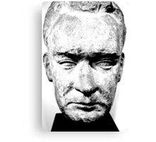 sculpture face stone stallin Canvas Print