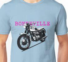 The Vintage Bonneville Motorcycle Unisex T-Shirt