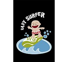 Baby Surfer Photographic Print