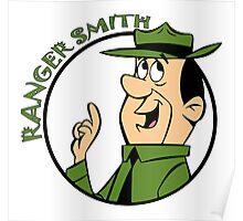 Ranger Smith Yogi Bear Poster