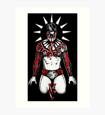 Demon Balor Club Art Print