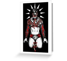 Demon Balor Club Greeting Card