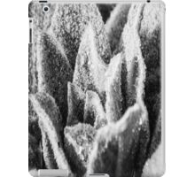 Black and White Plant iPad Case/Skin