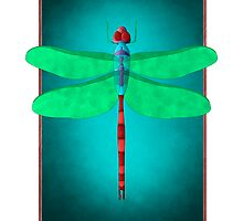 Dragonfly by MikinnaJo