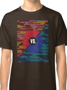 Red Vs. Blue Classic T-Shirt