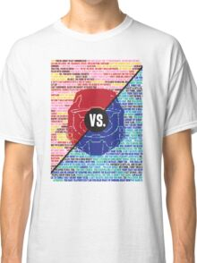 Red Vs. Blue Classic T-Shirt
