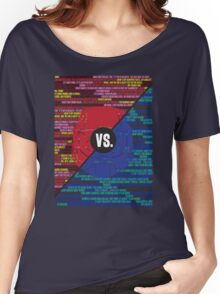 Red Vs. Blue Women's Relaxed Fit T-Shirt