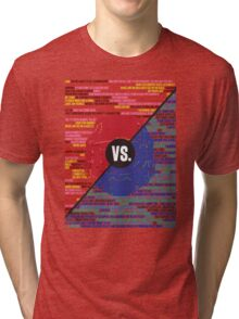 Red Vs. Blue Tri-blend T-Shirt