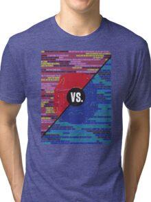 Red Vs. Blue Tri-blend T-Shirt