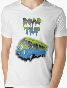 ROAD TRIP Mens V-Neck T-Shirt