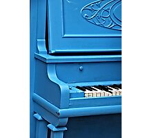 Piano Blues Photographic Print