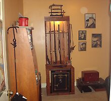 Cabinet No. 1  The Gun Cabinet by JRGarland