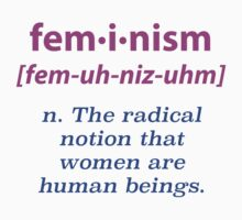 """""""What is Feminism?"""" Apparel by Gustave Monet"""