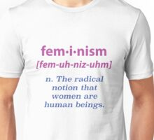 """What is Feminism?"" Apparel Unisex T-Shirt"