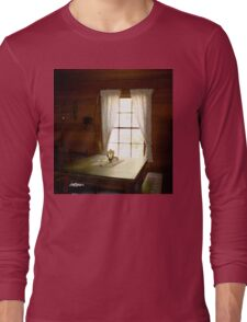 Light in the Cabin Window Long Sleeve T-Shirt