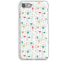Summer outline iPhone Case/Skin