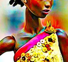 SALIHAH FAIZA:AFRICAN FASHION WEEK Sticker