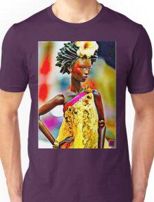 SALIHAH FAIZA:AFRICAN FASHION WEEK Unisex T-Shirt