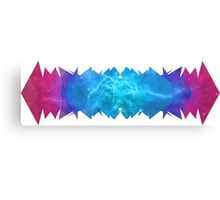 Space Wave Canvas Print