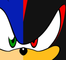 Shadow of a Hedgehog Sticker