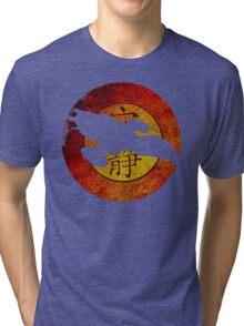 FireFly Logo Cutout  Tri-blend T-Shirt