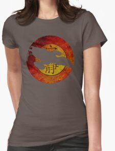 FireFly Logo Cutout  Womens Fitted T-Shirt