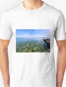 Serenity in Lake Superior Unisex T-Shirt