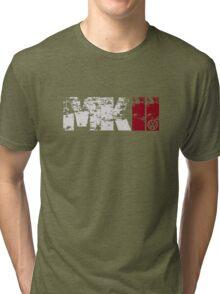 MKII (white) Tri-blend T-Shirt