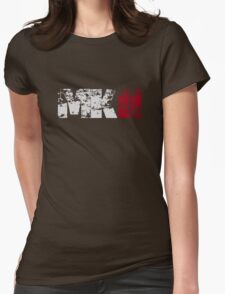 MKII (white) Womens Fitted T-Shirt